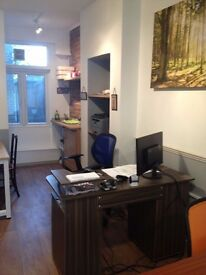 2 desks to rent in a lovely office