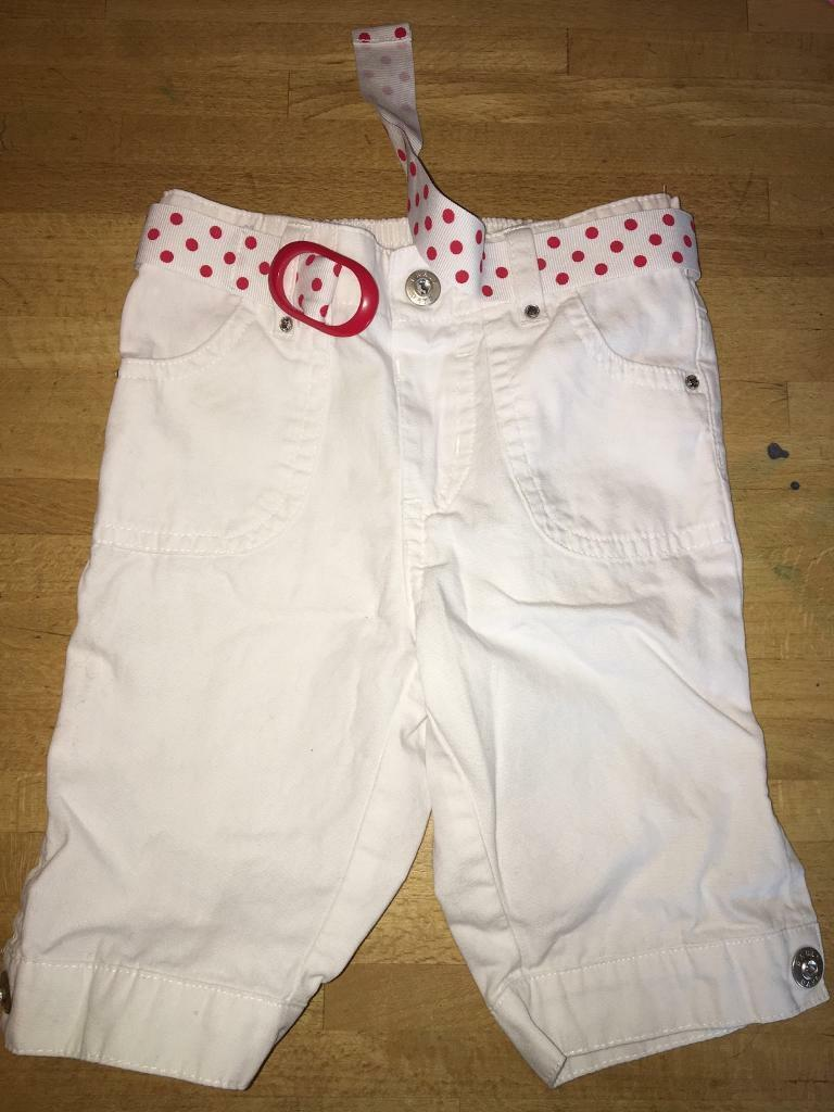 12-18 Months 3/4 length shorts baby girls
