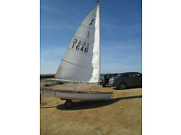 Solo Sailing Dinghy for sale £250