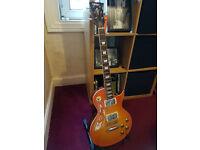 Vintage V100 Les Paul style guitar