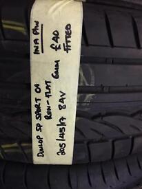 205/45/17 84V Dunlop Sp Sport 01 Run Flat Tyre