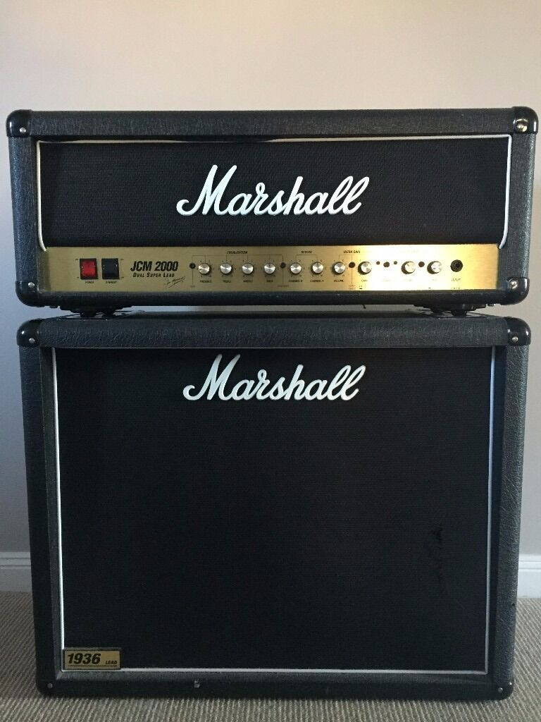 Marshall JCM 2000 DSL100 Head & Marshal 1936 Lead 2x12 cab | in ...