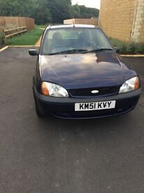 Ford Fiesta 1.3 registered in 2002