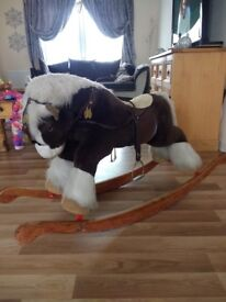 Rocking Horse For Sale. This is a bargain buy @ £60.