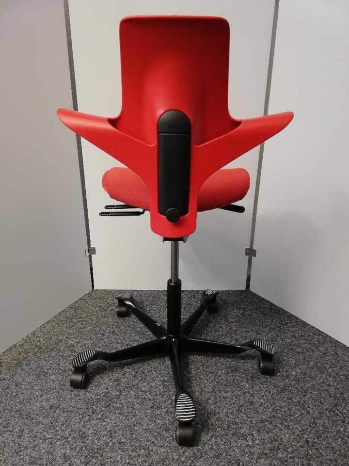 HAG Capisco Puls 8020 Bürostuhl Arbeitsstuhl ergonomisch rot NEU in Rietheim-Weilheim