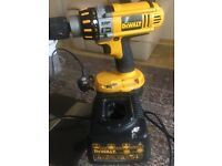 DeWalt 18V Drill with Battery