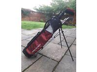 Kids Wilson Golf Clubs & Bag