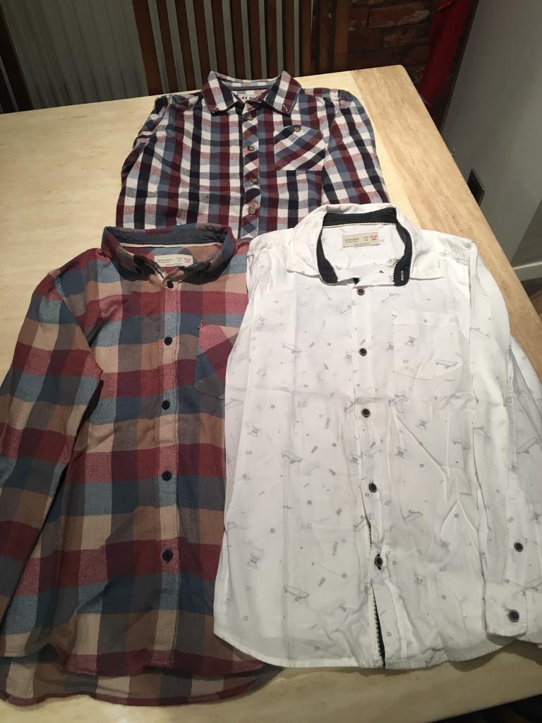 Boys Shirts Age 9 Zara