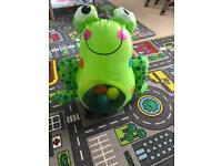 Inflatable frog FREE