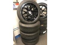 "4 18"" alloy wheels alloys tyres stuttgart Vw Volkswagen transporter t5 t6 BMW X1 x3"