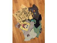 Boys t-shirts age 8-9