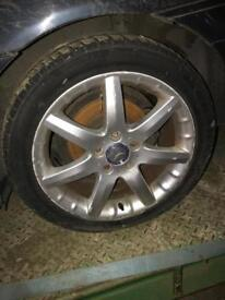 "17"" Alloys from Mercedes c180"