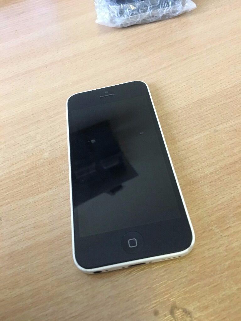 Apple iPhone 5c 32gb white unlocked
