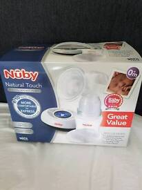 Nuby Natural Touch Electric Breast Pump with Digital Display