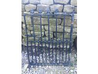 C17th reclaimed wrought iron garden gate