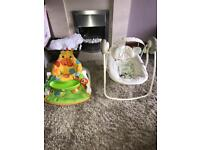 Fisher price & bright star chair the 2 for £30