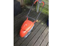 Flymo Electrolux hover compact lawn mower