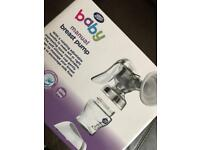 Boots breast pump breastfeeding baby