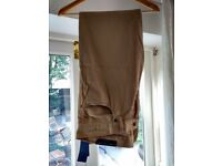 Ralph Lauren Mens Trousers - 34x32 - Burma Tan - New with Tags