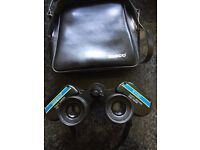 TASCO 10 X 50 Binoculars in good condition - carrying case included
