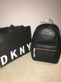 DKNY BLACK BACKPACK
