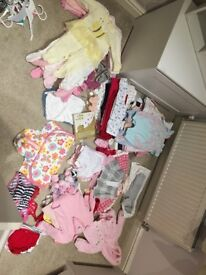 Baby girls clothes and shoes 3-6Mth 6-9mth