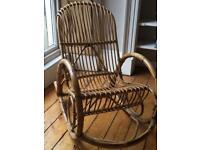 Gorgeous MCM vintage rocking chair