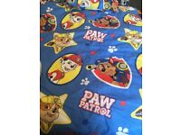 Paw patrol quilt and cover set