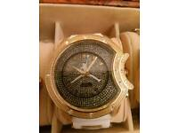 Men's Jordan bling watch