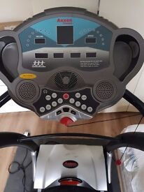 Treadmill Axxon A700, anti vibration pads, lubricant silicon, and electricity regulator