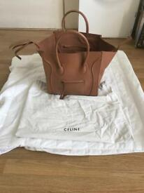 Celine leather tan phantom celine bag large