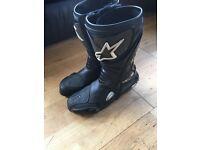 Alpinestar motorcycle boots