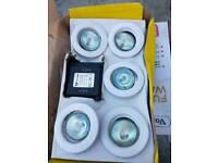 New boxed spotlights