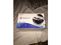 PLAYSTATION VR FRESH IN THE BOX NEVER USED!!