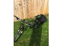 **ELECTRIC BIKE**. Green Edge cs2 electric mountain bike