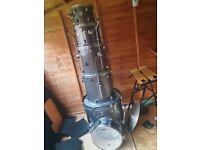 Mapex Horizon HX drum kit - grey sparkle
