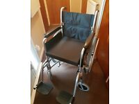 Self propel manual wheel chair