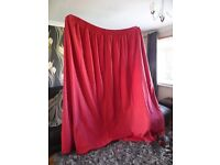 Lined Full Length Curtains