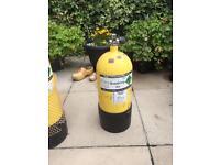 Faber dumpy diving bottle