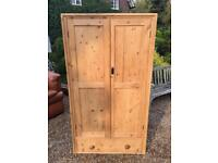 OLD PINE CUPBOARD