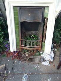 Antique Open Fireplace - Clearance