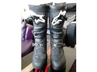 ALPINESTARS TECH 3 MOTOCROSS/ENDURO BOOTS.