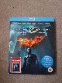 The dark knight 2 disc special edition blu-ray.