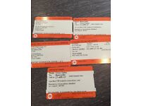 Crossgates to Newcastle train return leaving tomortow