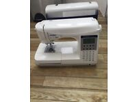 JUKI HZL F300 SEWING MACHINE OVERLOCKER PROGRAMMABLE OPEN TO OFFERS not singer brother