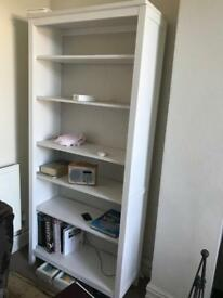 White bookcase (will take offers)