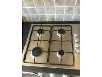 Stainless steel gas hob 10 months old