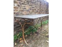 Vintage solid wood table