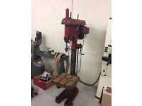 Pillar Drill Floor Standing Heavy Duty Engineering