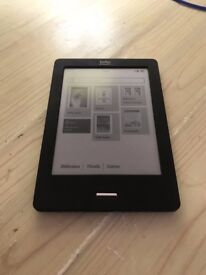 Kobo Touch N905 Black 6in, wi-fi, EBOOK, PDF EREADER, 2GB + 32GB SanDisk MicroSD